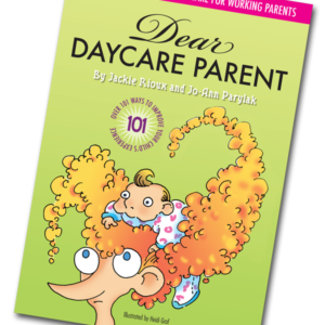 Dear Daycare Parent Book