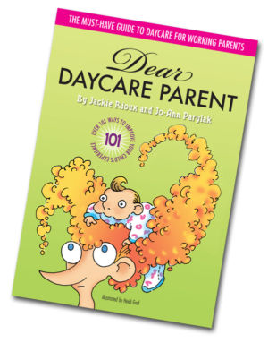 Dear Daycare Parent book cover