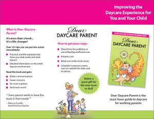 Download the Dear Daycare Parent Brochure